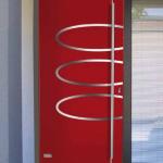 Modern Exterior Door Stainless Steele Decorative