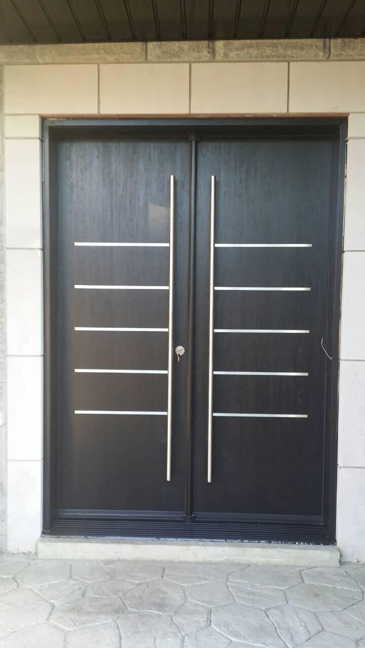 Modern Fibreglass Double Door Stainless Steel