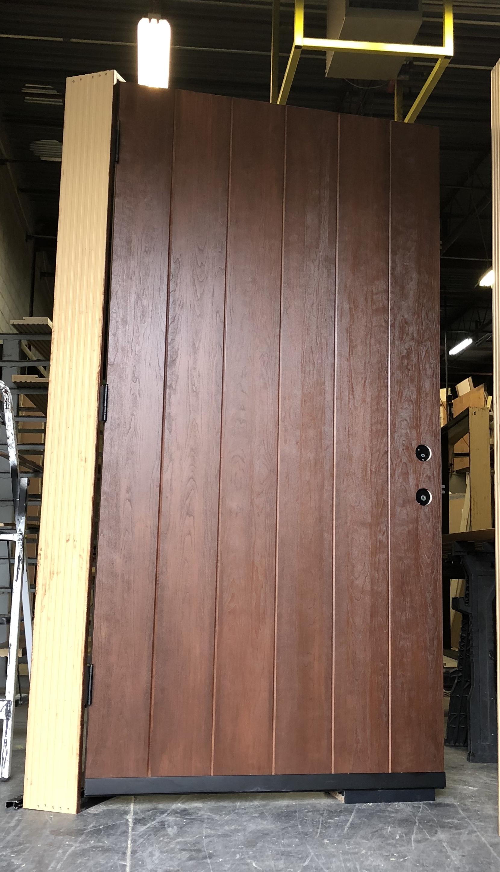 MODERN EXTERIOR DOOR BUCHER BLOCK DESIGN