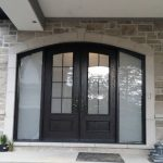 Exterior Arched Entry Door