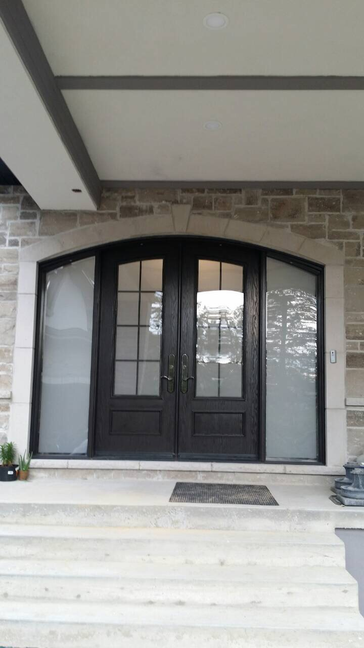 Exterior Arched Entry Door