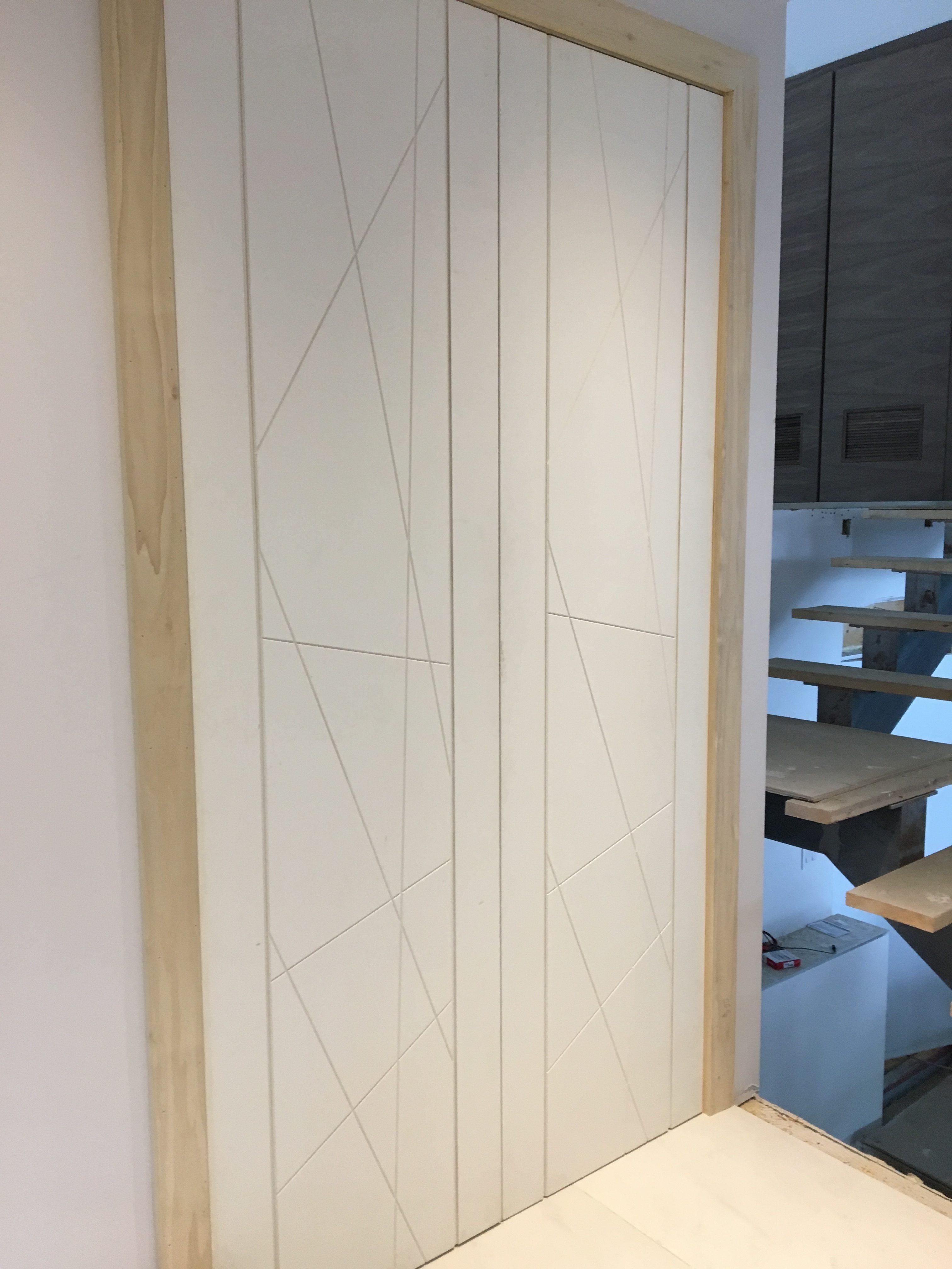 Modern Design Interior Hidden Double Door