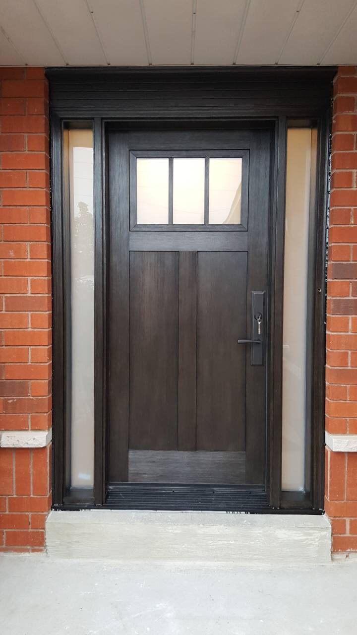 Traditional Front Entry Door Residential Application