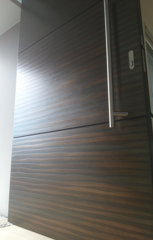 Modern Custom Wood Door Toronto