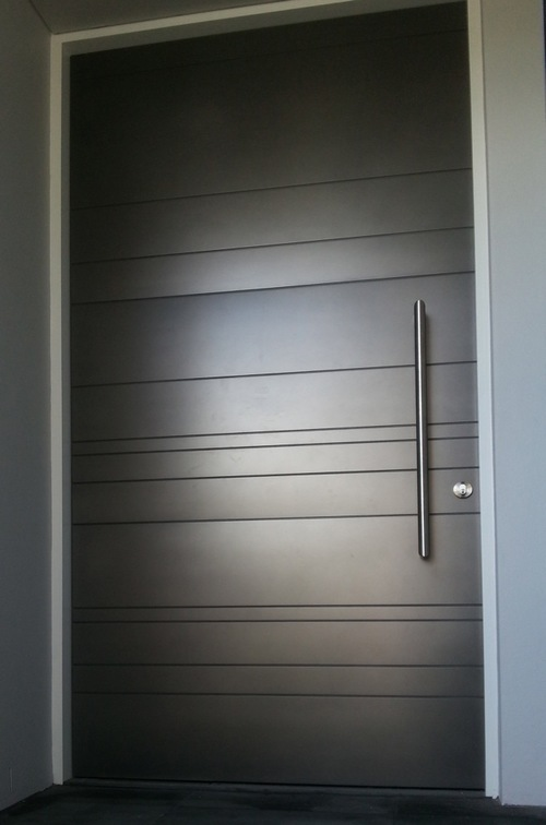 Modern Design Custom Wood Entrance Door