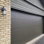 Modern Fiberglass Garage Single Garage Door