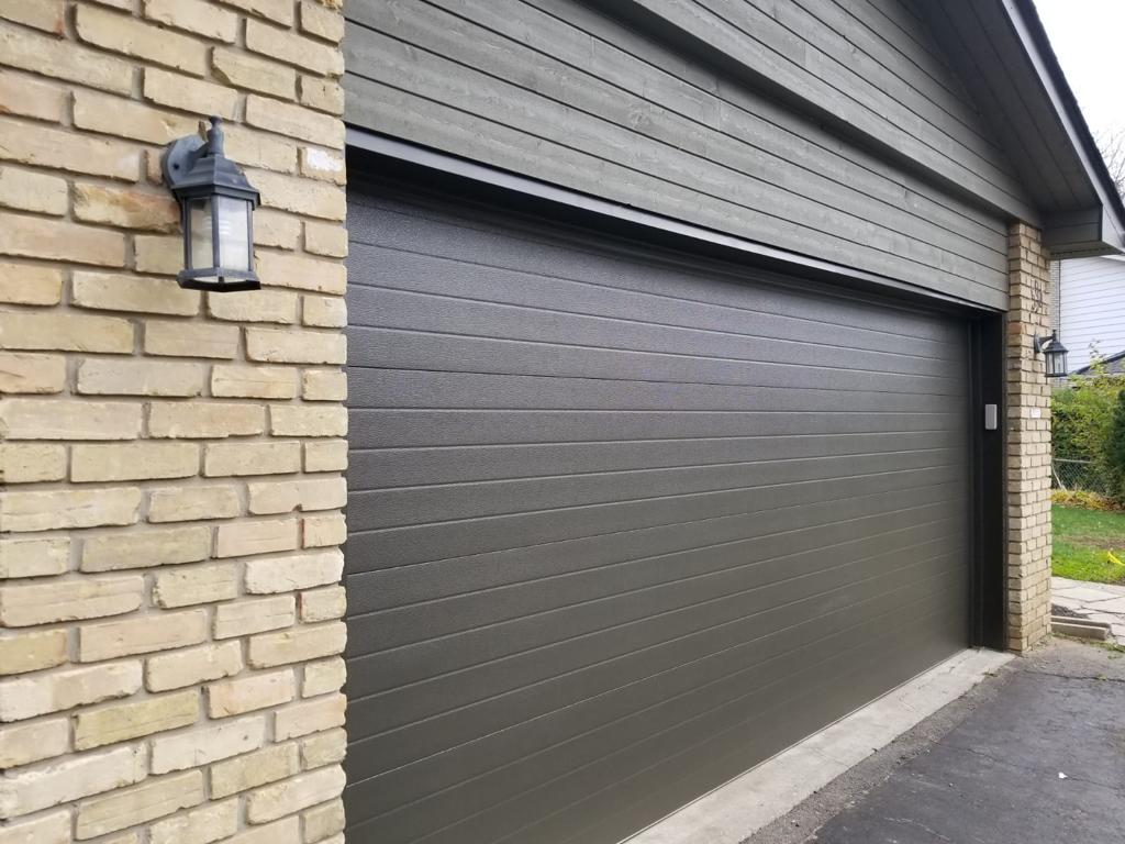 Modern Fiberglass Garage Single Garage Door