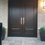 Traditional Fiberglass Double Front Entry Door