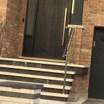 Modern Fiberglass Door Mastergrain Toronto