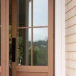 Solid Wood Shaker Style Entrance Door