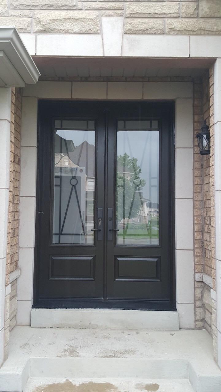 Fiberglass Front Entry Double Door