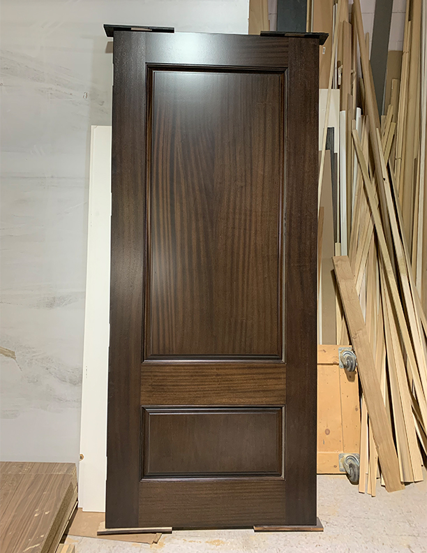 Over Sized Solid Wood Front Entry Door