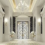 Iron classic door Elagant Design Double Entrance Doors