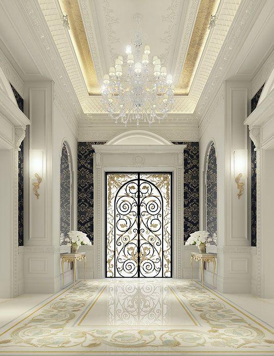 Iron classic door Elagant Design Double Entrance Doors