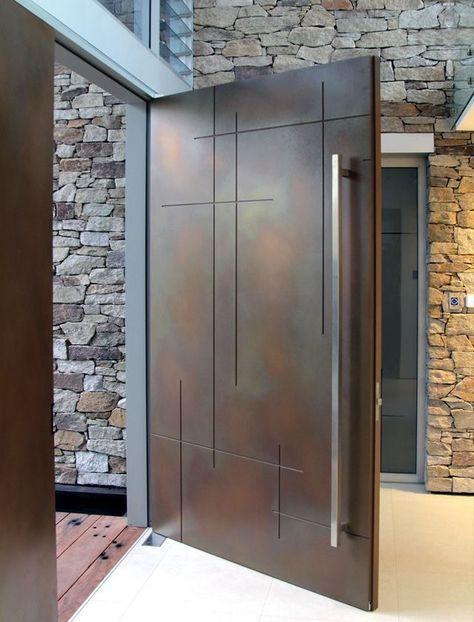 Oversized Pivot Door Architectural Design Multi Point