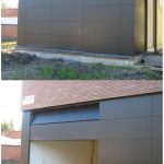 Ultra Modern Garage Single Door Solid Wood
