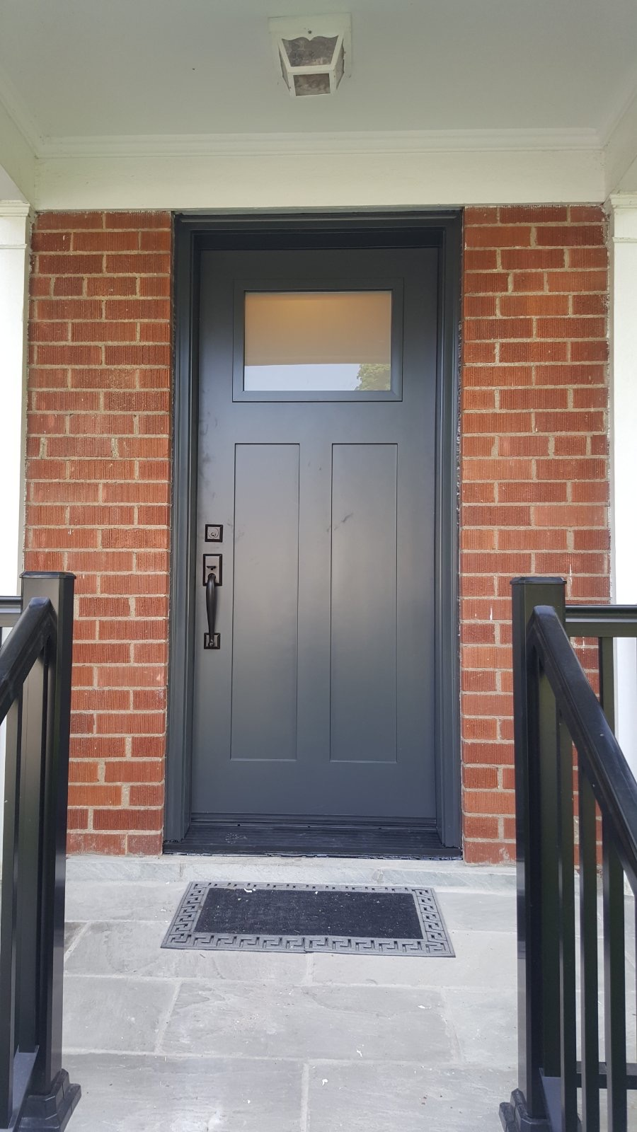 Traditional Smooth Finish Single Door