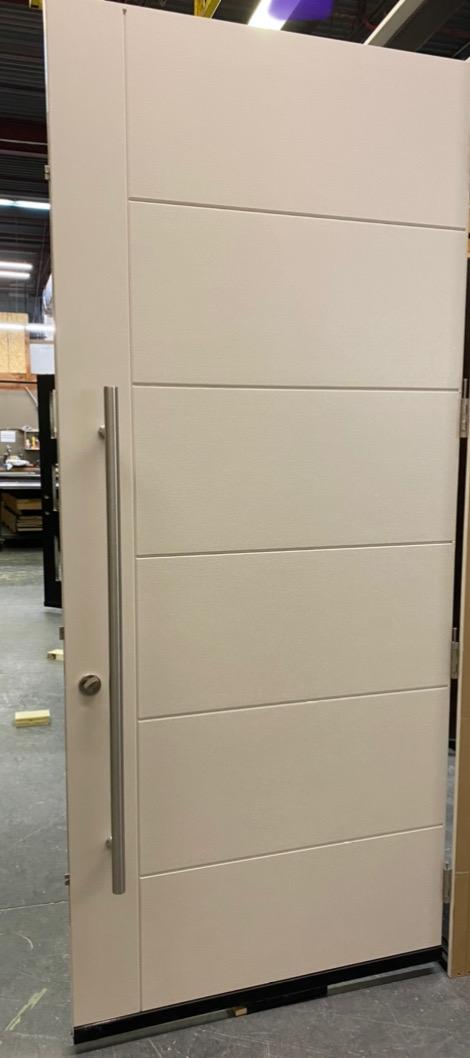 Modern Oversized Multi-Point Single Door White