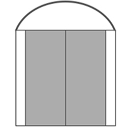 S/D/D/S with Curve Transom