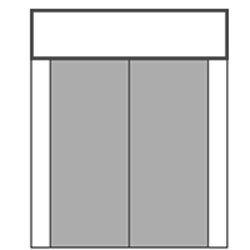 S/D/D/S with Rectangular Transom
