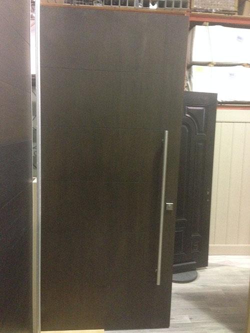 8 Foot Modern Rustic Front Door
