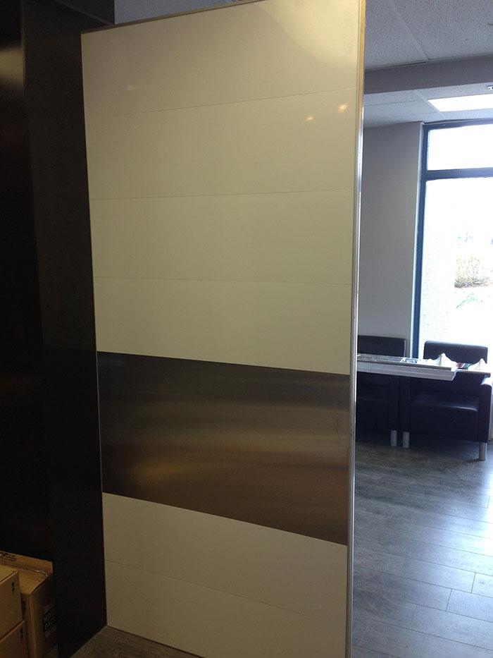 Aluminum Custom Modern Design Fiberglass Doors made by modern-doors