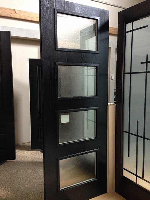 Contemporary Modern Front Entry Door-Modern Fiberglass Woodgrain and Glass Door in Toronto, Ontario-by modern-doors.ca-Picture#MED177