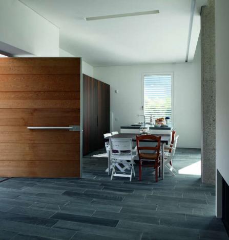 Fiberglass Modern Contemporary Front Entry Door in Woodbridge, Ontario by modern-doors.ca-Picture#MED162