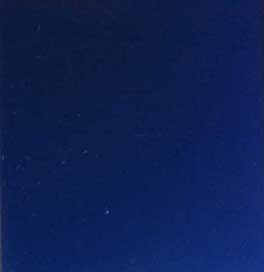 MODERN SAPPHIRE BLUE GLASS