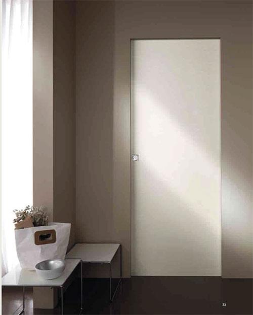 MODERN SLIDING DOOR-ESSENTIAL SLIDING DOOR SMOOTH WHITE ASH-MODERN ITALIAN DOOR INSTALLATION IN TORONTO BY MODERN-DOORS.CA