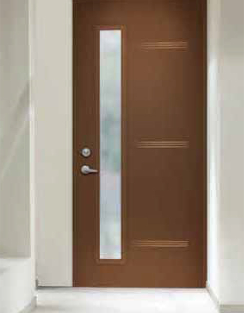 Modern Contemporary Front Entry Door Design Collection - Frosted Glass Modern Exterior front Door Multi Point Locks-Urbano Design- Installed by modern-doors-Picture#203