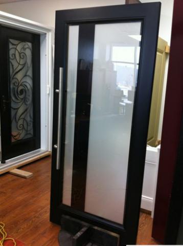 Modern Contemporary Front Entry Door-Fiberglass Front Exterior Door with Glass Design by modern-doors