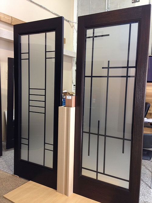 Modern Contemporary Front Exterior Door Designed by Modern-doors.ca-Picture#MED142
