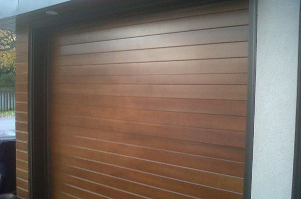 Modern Contemporary Garage Doors- Fiberglass Solid Modern Garage Doors - In Woodbridge, Ontario-by modern-doors.ca-Picture#637