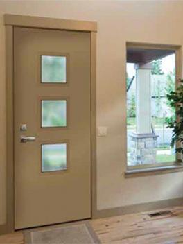 Modern Entry Exterior doors, Novatech Uno Style