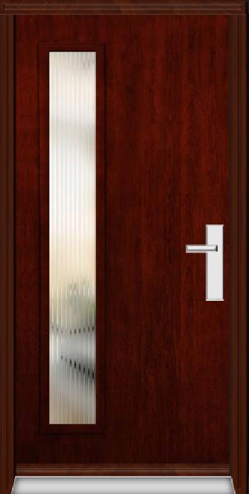 Richerson Mastergrain Fiberglass Entry Door Contemporary Collection