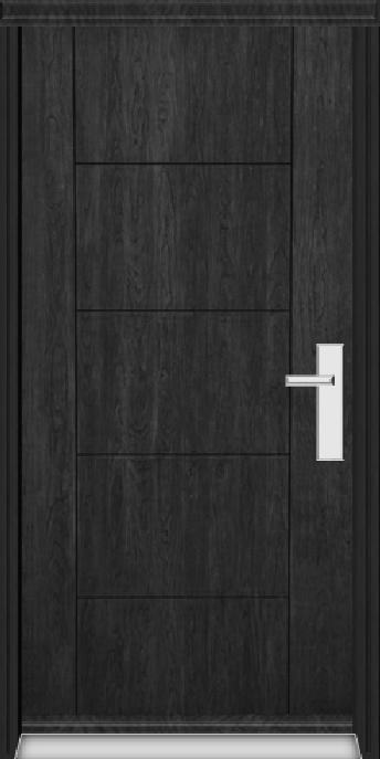 Richerson Mastergrain Fiberglass Entry Doors COntemporary Collection