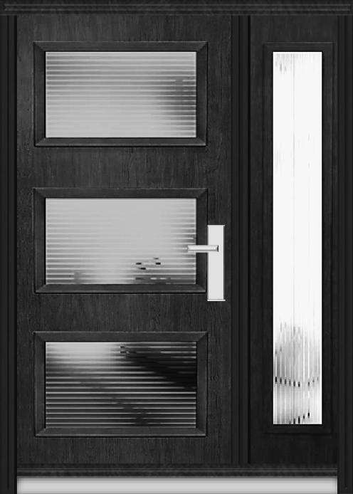 Richerson Mastergrain Fiberglass front Door Contemporary Collection